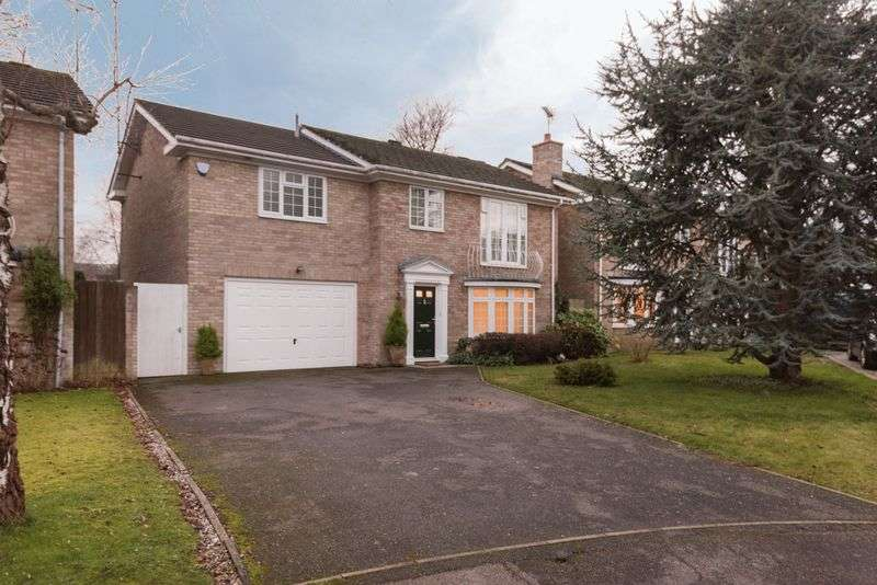4 Bedrooms Detached House for sale in Silverdale, Keymer, West Sussex,