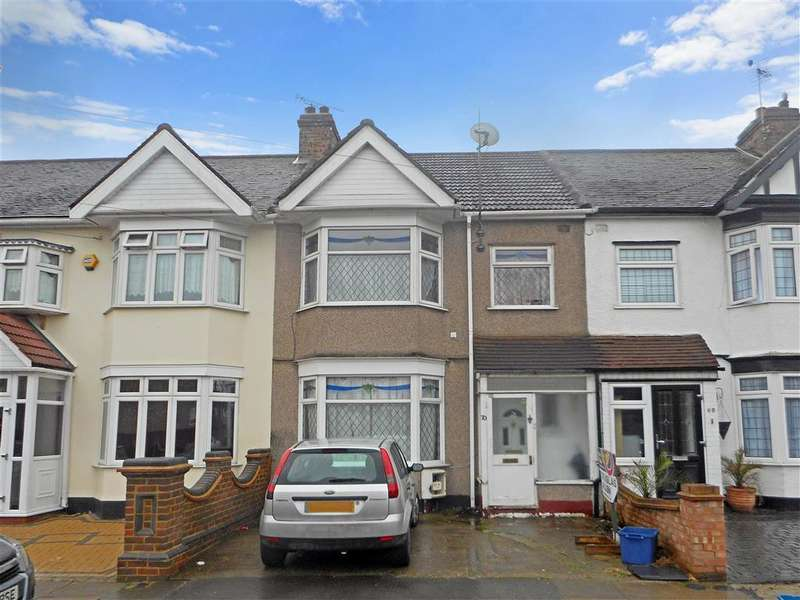 3 Bedrooms Terraced House for sale in Overton Drive, Chadwell Heath, Essex