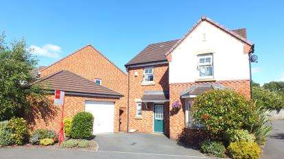 4 Bedrooms Detached House for sale in The Orchards, Leyland, Lancashire