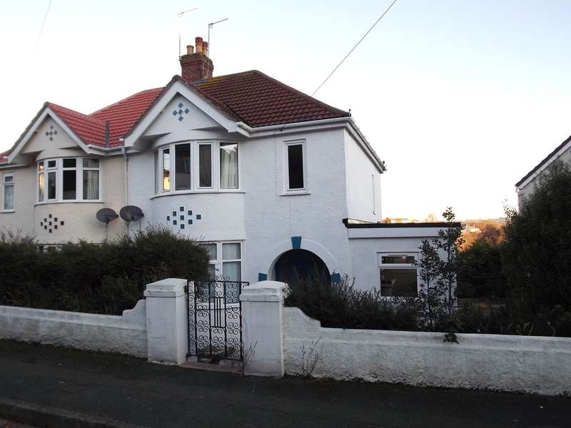 3 Bedrooms Semi Detached House for sale in Burridge Road, Chelston, Torquay