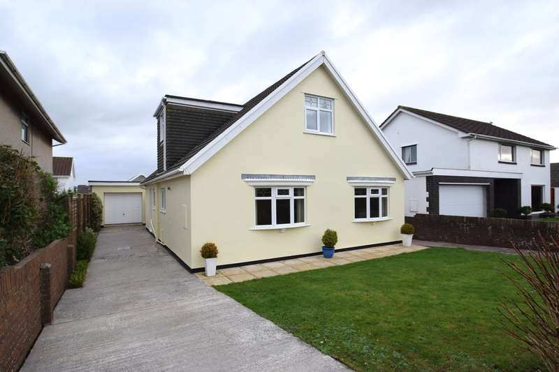 3 Bedrooms Detached Bungalow for sale in 6 De Turberville Close, Prothcawl, Bridgend County Borough, CF36 3JG.