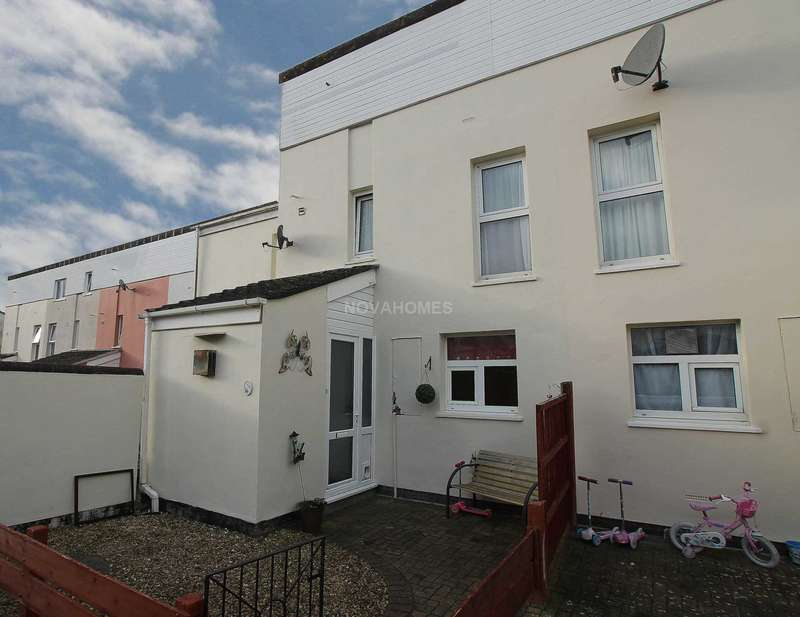 4 Bedrooms End Of Terrace House for sale in Cunningham Road, Tamerton Foliot, PL5 4PS
