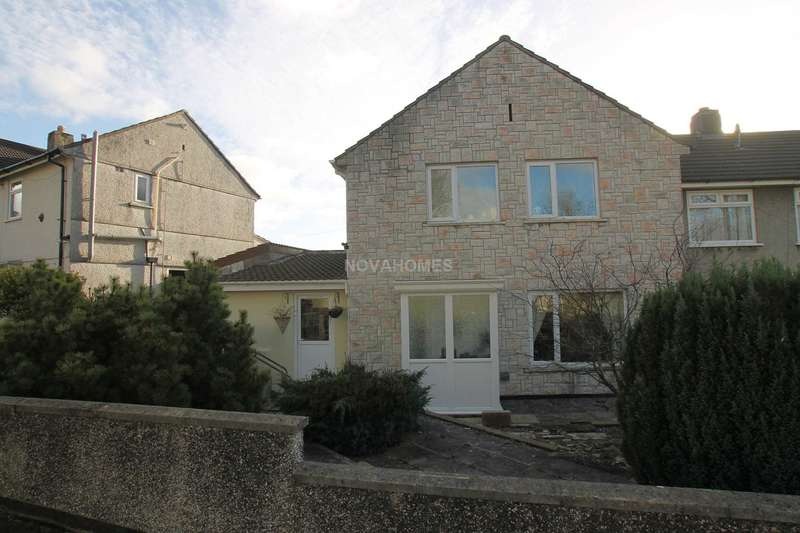 3 Bedrooms Semi Detached House for sale in Lancaster Gardens, Whitleigh, PL5 4AA