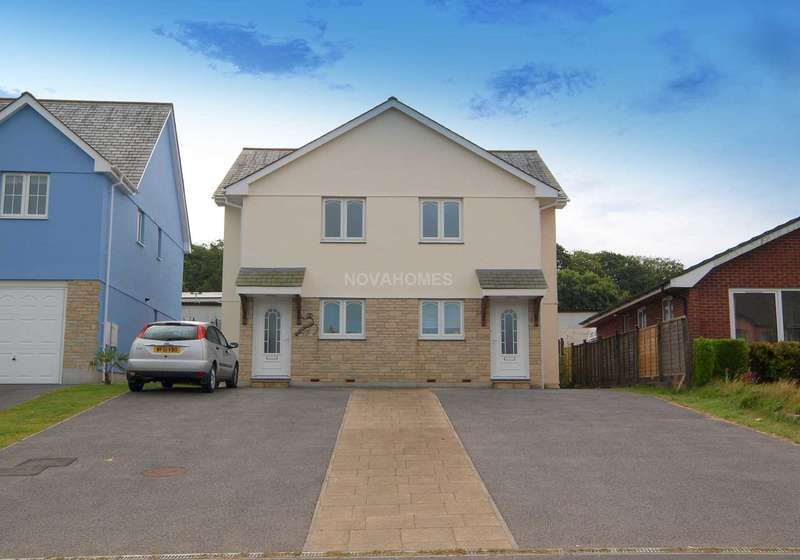 3 Bedrooms Semi Detached House for sale in Station Road, Kelly Bray, PL17 8ER