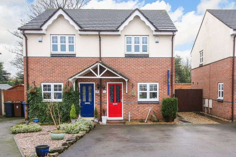 2 Bedrooms Semi Detached House for sale in Dovenby Fold, Wigan