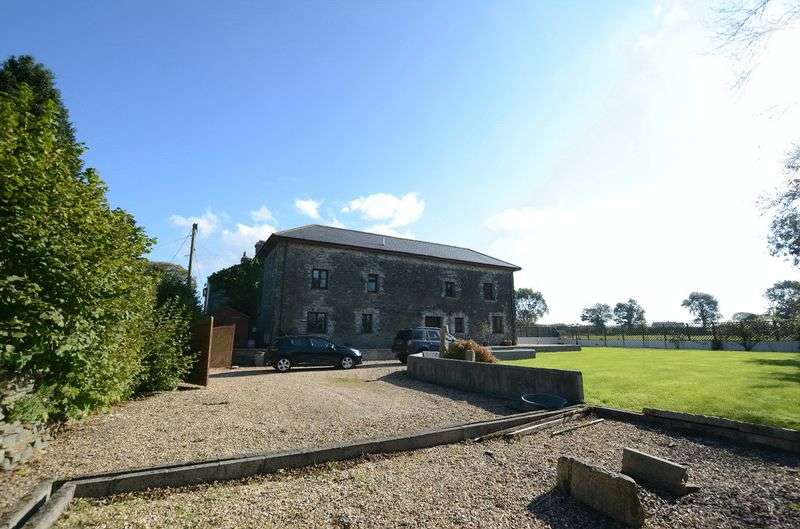 4 Bedrooms Detached House for sale in Gulworthy, Tavistock