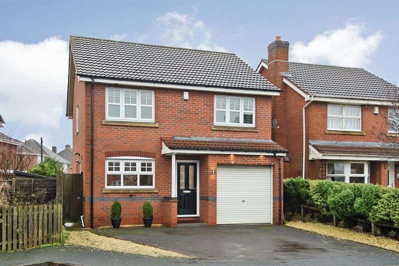 4 Bedrooms Detached House for sale in Whitebeam Close, Clayhanger, Walsall