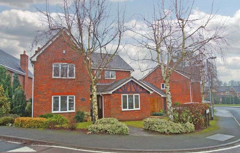 4 Bedrooms Detached House for sale in Appletrees Crescent, Woodlands Grange. Bromsgrove