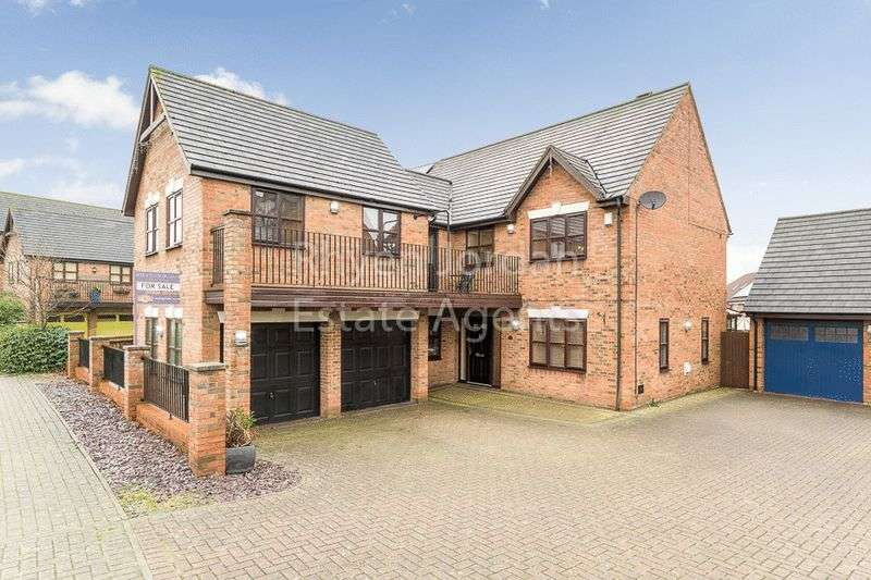 5 Bedrooms Detached House for sale in Cranborne Avenue, Westcroft, Milton Keynes