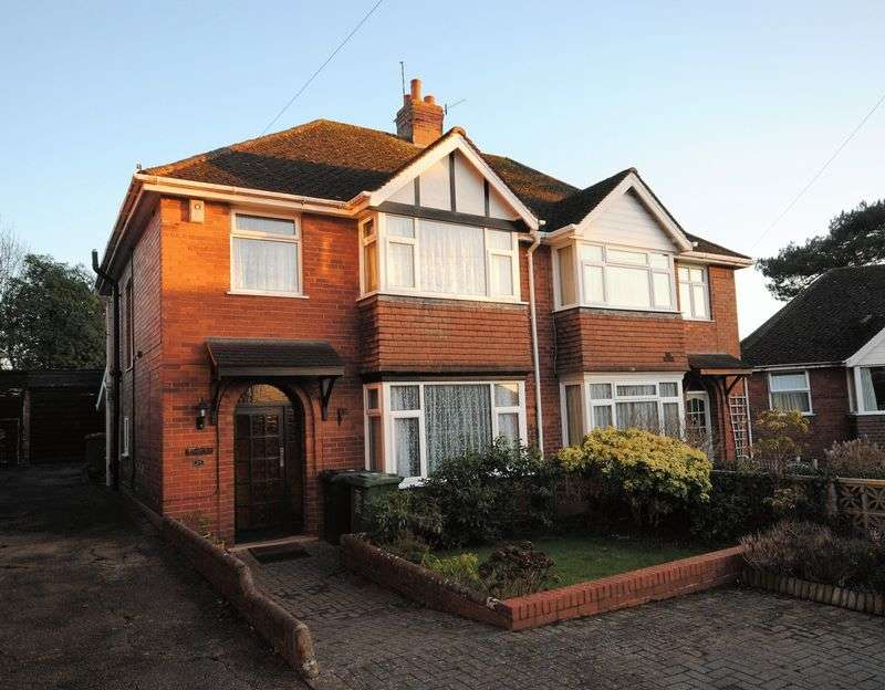 3 Bedrooms Semi Detached House for sale in Feltrim Avenue, Exeter