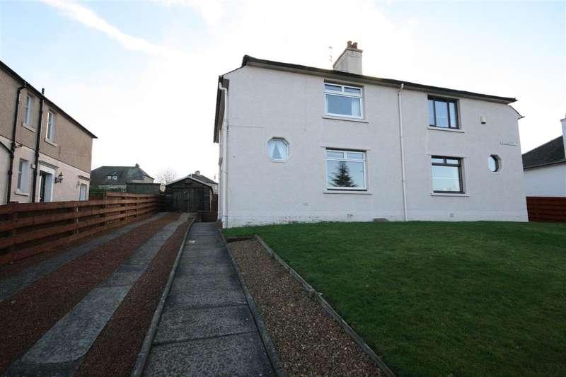 3 Bedrooms Semi Detached House for sale in Grahamsdyke Street, Falkirk