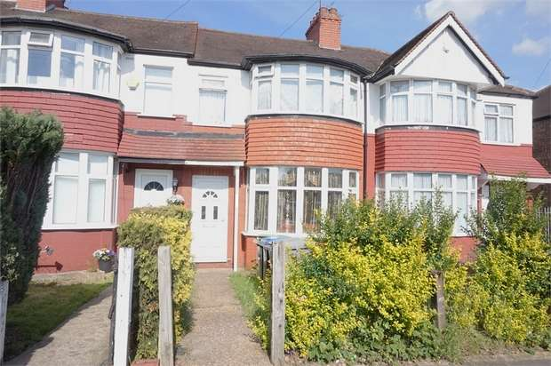3 Bedrooms Terraced House for sale in Lancelot Road, Wembley, Middlesex