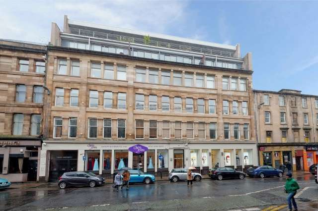 2 Bedrooms Penthouse Flat for sale in 66 Howard Street, Glasgow, G1 4EE