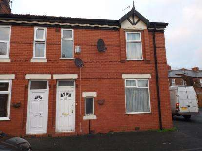 3 Bedrooms End Of Terrace House for sale in Carlton Avenue, Rusholme, Manchester, Greater Manchester