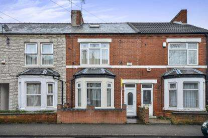 3 Bedrooms Terraced House for sale in Corporation Street, Mansfield, Nottinghamshire