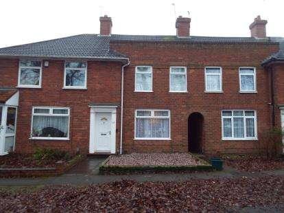 3 Bedrooms Terraced House for sale in Princethorpe Road, Birmingham, West Midlands