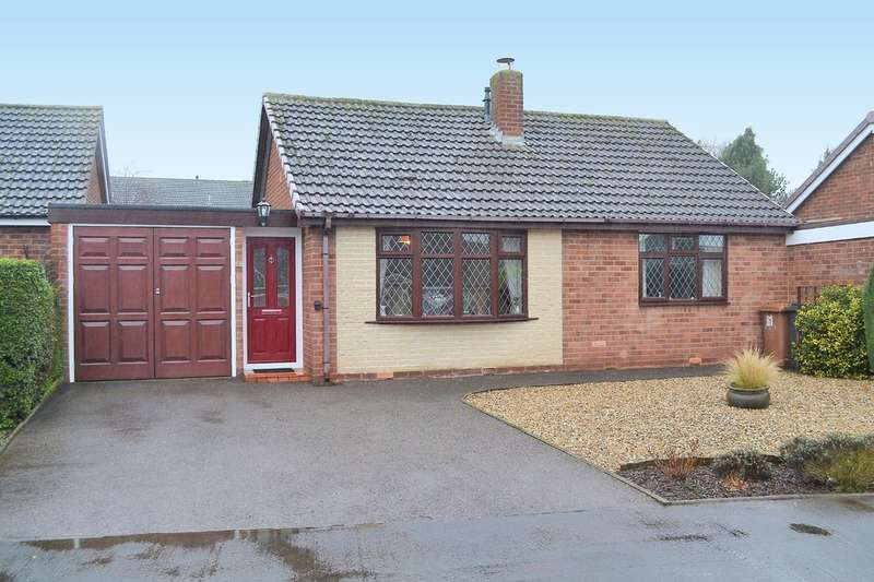 2 Bedrooms Detached Bungalow for sale in Ferndale Road, Lichfield