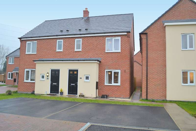 3 Bedrooms Semi Detached House for sale in Bagnall Way, Rugeley