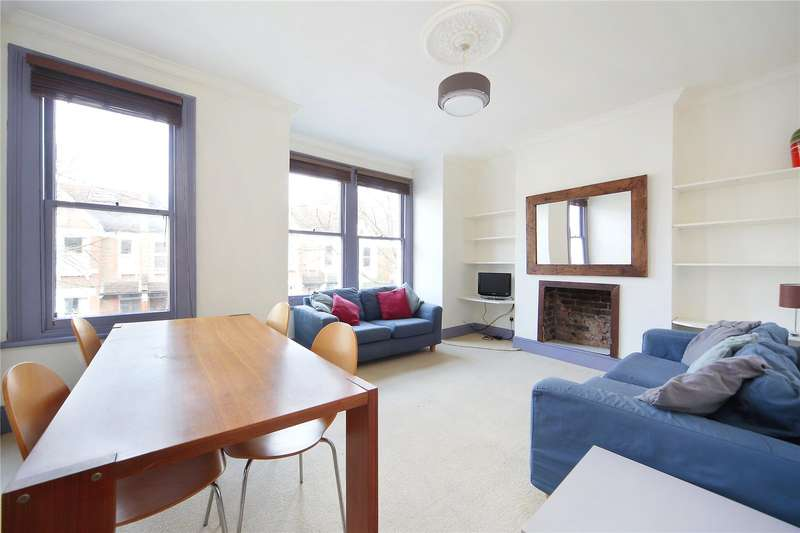 2 Bedrooms Flat for sale in Honeybrook Road, Clapham South, London, SW12