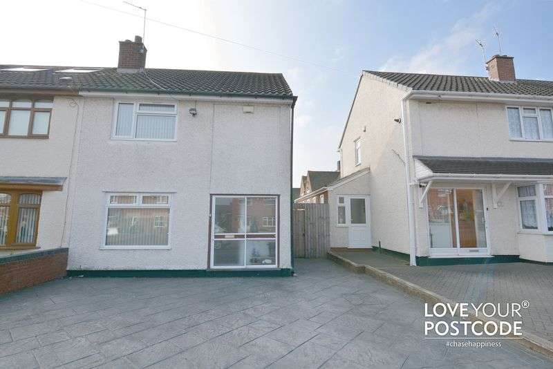 2 Bedrooms Semi Detached House for sale in Winchester Road, West Bromwich,B71 2NY