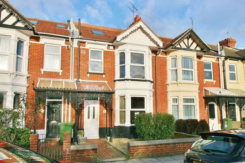 4 Bedrooms Terraced House for sale in Wimborne Road, Southsea