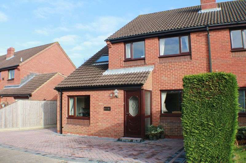 4 Bedrooms Semi Detached House for sale in Westminster Gardens, Titchfield Common