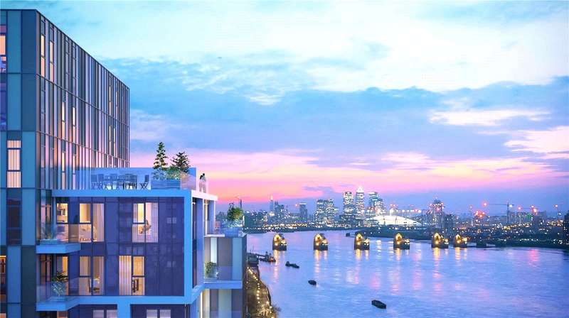 2 Bedrooms Flat for sale in King Henry'S Dock, Europe Road, Woolwich, London, SE18