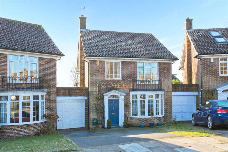4 Bedrooms Detached House for sale in Whittingehame Gardens, Brighton, East Sussex, BN1
