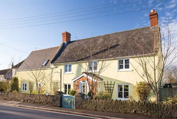 5 Bedrooms Detached House for sale in Newtown, West Pennard, Glastonbury