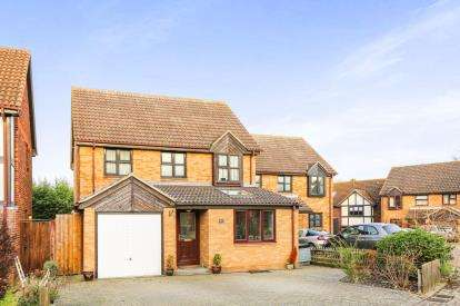 4 Bedrooms Detached House for sale in Byards Green, Potton, Sandy, Bedfordshire