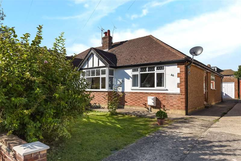 3 Bedrooms Semi Detached Bungalow for sale in Collins Drive, Ruislip, Middlesex, HA4