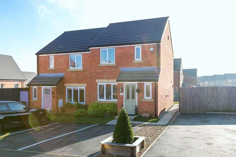 3 Bedrooms Semi Detached House for sale in Hartley Green Gardens, Billinge, WN5 7GB