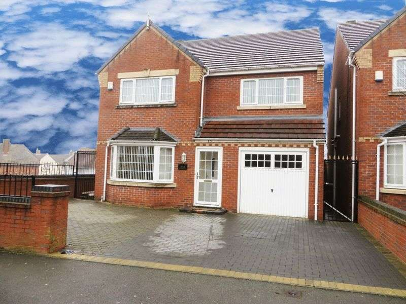 4 Bedrooms Detached House for sale in Queens Road, Smethwick