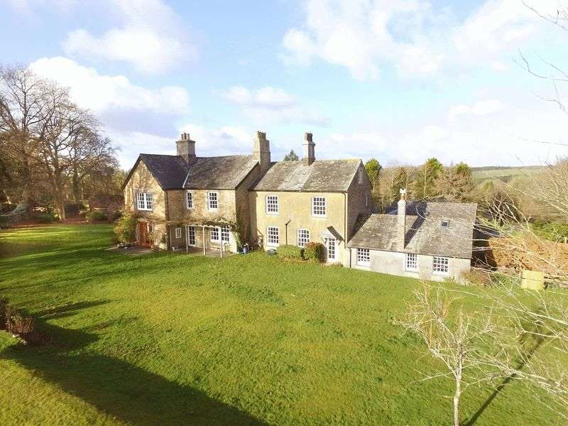5 Bedrooms Detached House for sale in Lewdown, Okehampton