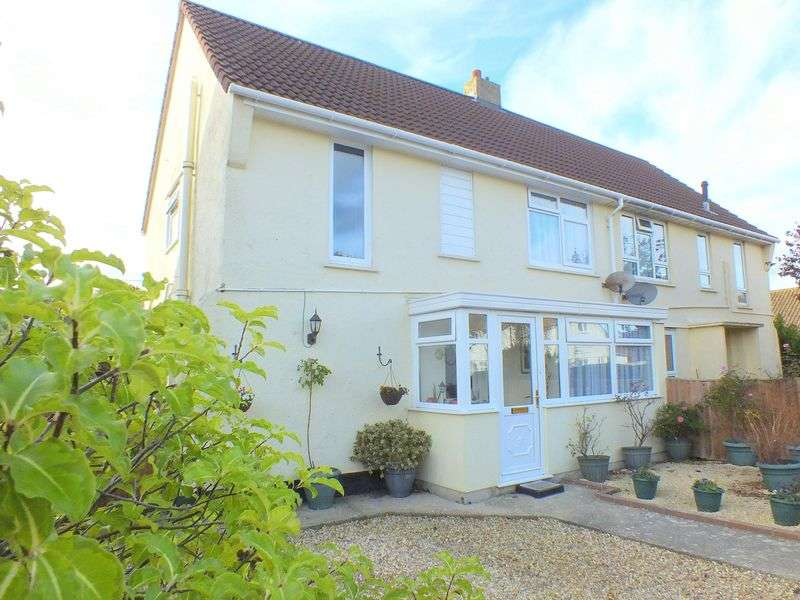 3 Bedrooms Semi Detached House for sale in Wesley Close, Charmouth DT6 6QT