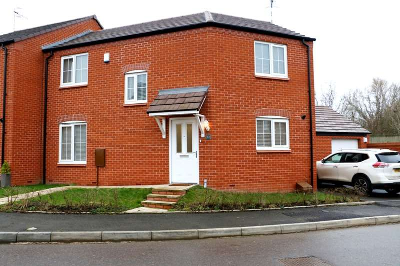 3 Bedrooms Semi Detached House for sale in Chestnut Way, Alcester, Warwickshire, B50