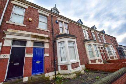 6 Bedrooms Terraced House for sale in Sandyford Road, Newcastle Upon Tyne, Tyne and Wear, NE2