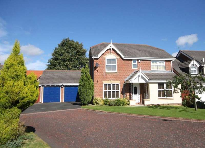4 Bedrooms Detached House for sale in Foxglove, Summerfields, Chester le Street, DH2