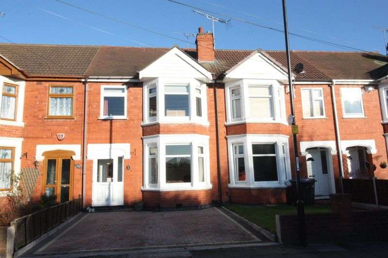 3 Bedrooms Terraced House for sale in Welgarth Avenue, Coundon, Coventry