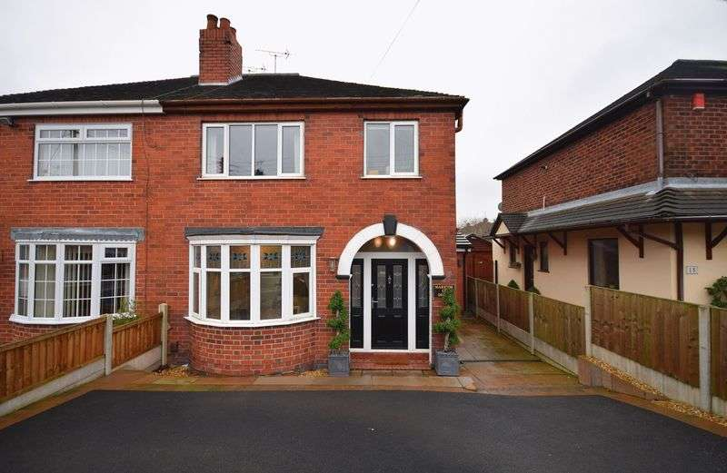 3 Bedrooms Semi Detached House for sale in Marston Grove, Sneyd Green