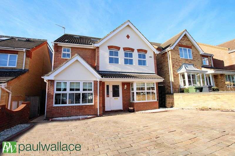5 Bedrooms Detached House for sale in Bloomfield Road, West Cheshunt