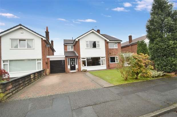 4 Bedrooms Detached House for sale in Warwick Drive, Hazel Grove, Stockport, Cheshire