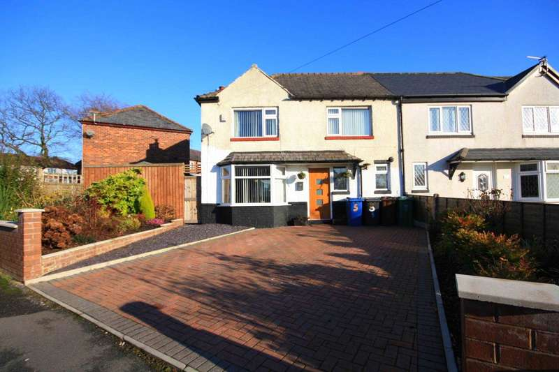 3 Bedrooms Semi Detached House for sale in Langley Grove, Manchester