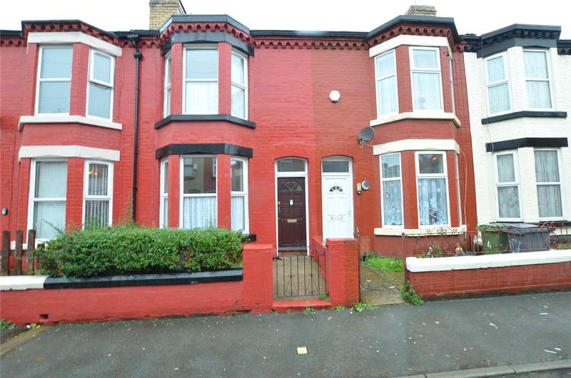 2 Bedrooms Terraced House for sale in Palatine Road, Wallasey, Merseyside, CH44