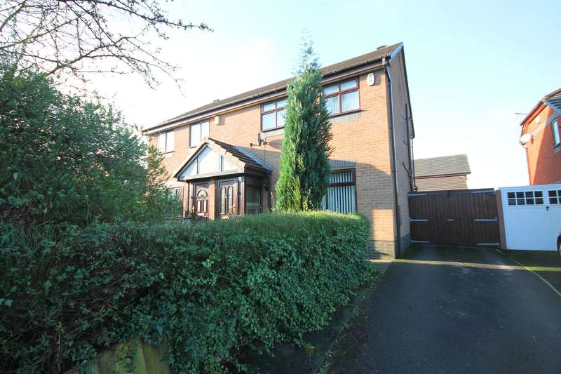 3 Bedrooms Semi Detached House for sale in Sevenoaks Drive, Great Lever, Bolton, BL3 3ED