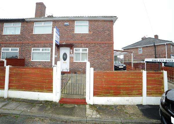 3 Bedrooms Semi Detached House for sale in 40 Fiddlers Lane, Irlam M44 6HN