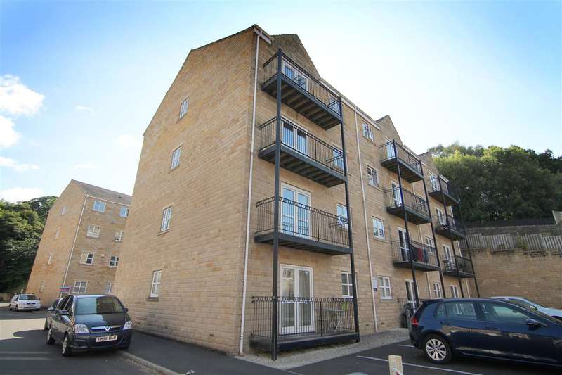 2 Bedrooms Apartment Flat for sale in Mill Stream Drive, Luddendenfoot, Halifax