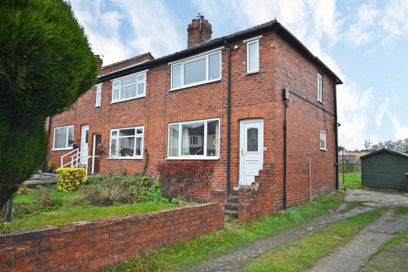 2 Bedrooms End Of Terrace House for sale in Park Avenue, Lofthouse, Wakefield
