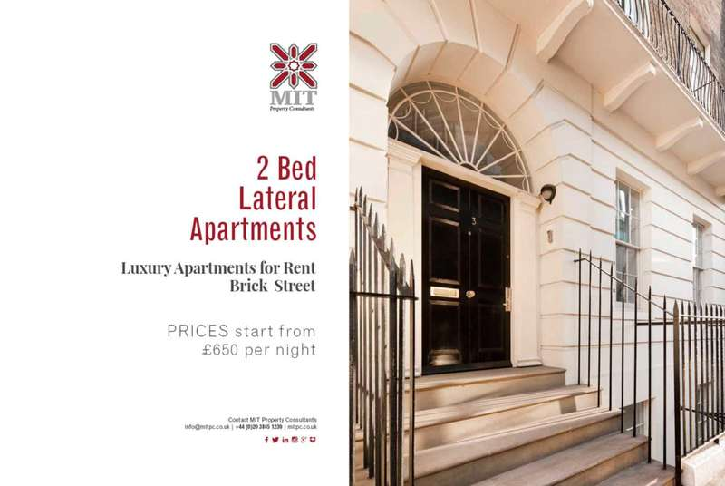 2 Bedrooms Serviced Apartments Flat for rent in Brick Street, Mayfair