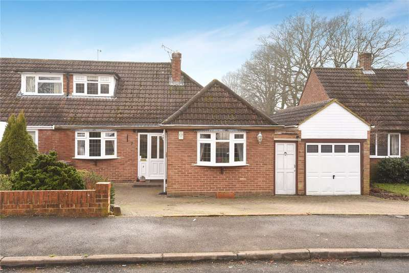3 Bedrooms Semi Detached Bungalow for sale in Cedars Close, Sandhurst, Berkshire, GU47
